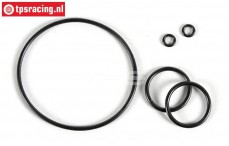 FG8600/11 Differential O-ring, Viscose, Set