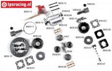 FG8605 Differential 2WD FG Powerlock, Set.
