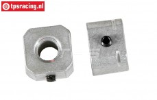 FG8610/02 Alloy Wheel square, L14 mm, 2 pcs