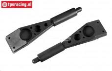 FG9014 Body support, L135 mm, 2 pcs.
