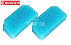 FG9046/01 Airfilter foam flat pre-oiled FG, 2 pcs.