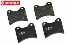 FG9439/06 FG-Magura Expert brake lining, 4 pcs.