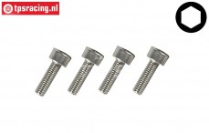 FG9439/10 Socket-Head M3-L10 mm, 4 pcs.