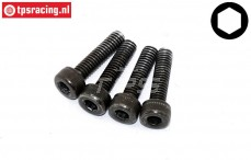 FG9440/13 Magura main brake cylinder screw M2,5-L10 mm, 4 pcs.