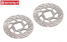 FG9445 Magura steel brake disk Ø69-D1,5 mm, 2 pcs.