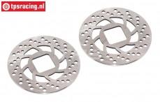 FG9445 Magura steel brake disk Ø69-D1,5 mm, 2 pcs.