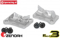 ZN32002F3 Zenoah 32cc Tuning transfer port covers, set