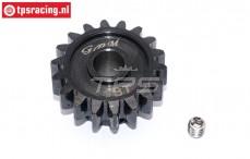 SSB018T-BK Steel gear 18T Super Baja-Rock Rey, 1 pc.
