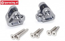 SB008-GS Upper suspension arm holder Silver Super Baja-Rock Rey, Set
