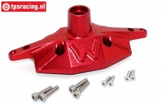 SB013A-R Rear axle housing Super Baja Rey Red, Set