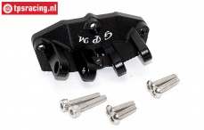 SB011B-BK Rear suspension arm holder black Super Baja-Rock Rey, 1 st.