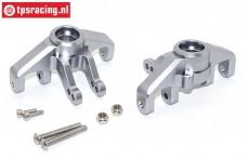SB021-GS Steering hubs front Super Baja Rey Silver, Set