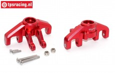 SB021-R Steering hubs front Super Baja Rey Red, Set