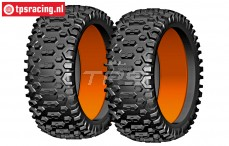 GW91-P1 GRP Cross P1 tires with foam, 2 pcs.