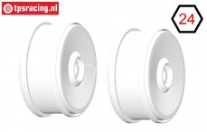 GH98H 1/6 rim GRP BU-BIG White, 2 pcs.