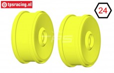 GH98Y 1/6 rim GRP BU-BIG Yellow, 2 pcs.