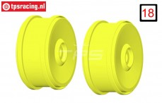 GH99Y 1/6 rim GRP BU-BIG Yellow, 2 pcs.
