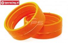 GRP Tyre insert 1/6 Extra Soft, (Ø130-Ø160-W60 mm), 2 pcs.