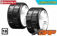 GWH02-XM3 GRP 1/5 tires Medium Ø120 mm, 2 pcs.