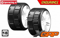 GWH02-XP1 GRP 1/5 tires Soft Ø120 mm, 2 pcs.