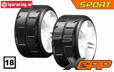 GWH02-XS5 GRP 1/5 tires Medium Ø120 mm, 2 pcs.
