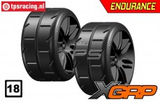 GWH02-XP3B GRP 1/5 tires Medium Ø120 mm, 2 pcs.