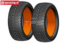 GW90-S1 GRP Micro S1 tires with foam, 2 pcs.