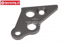 HPI102163 Engine mount brace left Gun Metal, 1 pc.