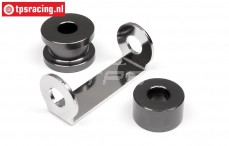HPI102164 Engine spacer Gun-Metal, Set