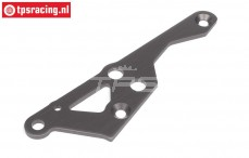 HPI102173 Engine mount brace right Gun Metal, 1 pc