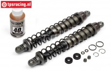 HPI102480 Shock front VVC/HD, Gun Metal, 2 pcs.