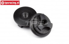 HPI105613 Nut HD wheel axle, 2 pcs