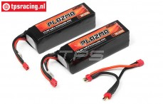 HPI115505 PLAZMA ULTIMATE POWER 5300 mAh 14,8 Volt, 2 pcs