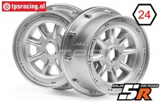 HPI115765 Rim ML-8 Silver, 2 pcs