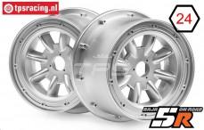 HPI115766 Rim ML-8 Silver, 2 pcs