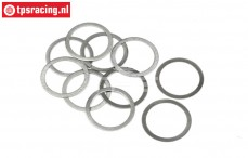 HPI132169 Shim Ring Ø12-Ø16-H0,1 mm, 10 pcs