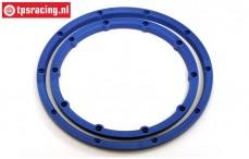 HPI3246 HPI Baja Beadlock Bleu, 2 pcs.
