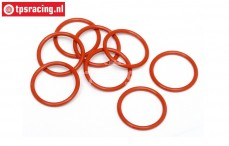 HPI75071 O-ring lower shock closure, 8 pcs.