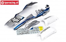 HPI7790 Body Painted, Bleu/Silver/White, Set