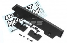 HPI85249 Rear Wing 5T-1 Black, Set