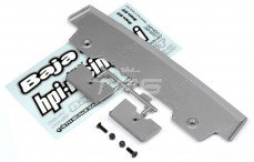 HPI85295 Rear Wing 5T-1 Silver, Set