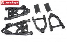 TPS5220F Nylon wishbone front, HPI/Rovan, Set
