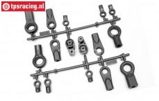 HPI85416 Rod end, Set
