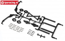 HPI85417 Body mount Set Baja 5T, Set