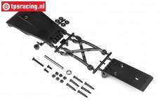 HPI85421 Bumper Skid Plate 5SC/5T, Set