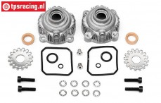 HPI85427 Alloy Differential housing, Set
