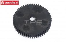 TPS85432 Tuning Nylon main gear 57T, 1 pc.