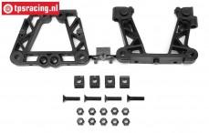 HPI85434 Rear Bulkhead, Set