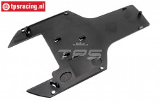 TPS85443 Chassis protection rear lower HPI-Rovan, 1 pc.