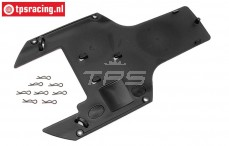 HPI85443 Chassis protection rear lower, 1 pc.